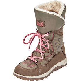 Jack Wolfskin Rhode Island Texapore High Winter Boots Girls siltstone
